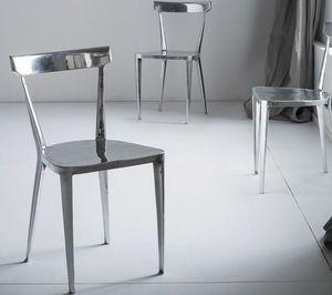 Byron, Elegante sedia in alluminio