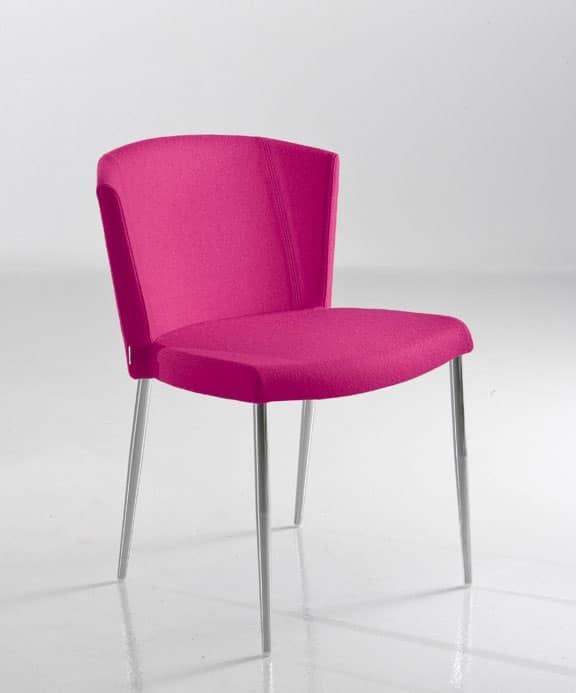 So chic s sedia comoda soggiorno idfdesign for Sedia design comoda