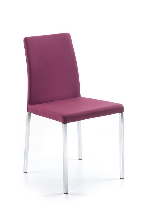 sedia con schienale basso per cucine idfdesign
