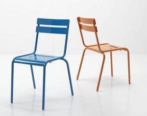 Immagine di 88, sedia metallo linea moderna