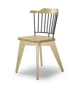 CG 958081, Sedia in legno e metallo