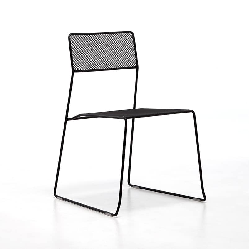 Log mesh chair, Sedia visitatore