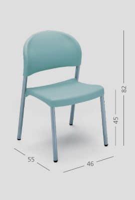 SI 31, Sedia semplice per ristoranti e abitazioni