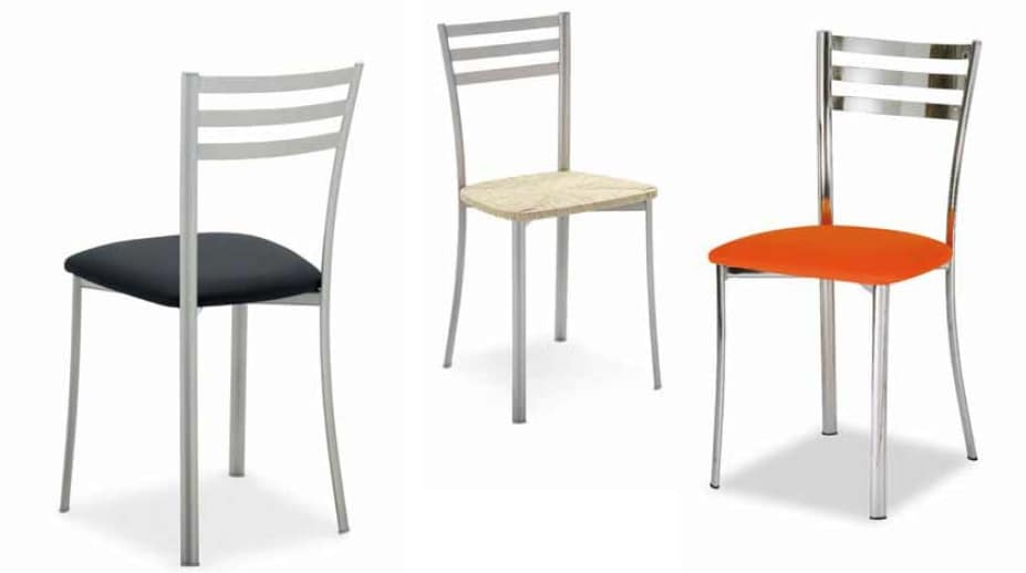 Sedie In Metallo Da Cucina : Sedia in metallo per cucina idfdesign