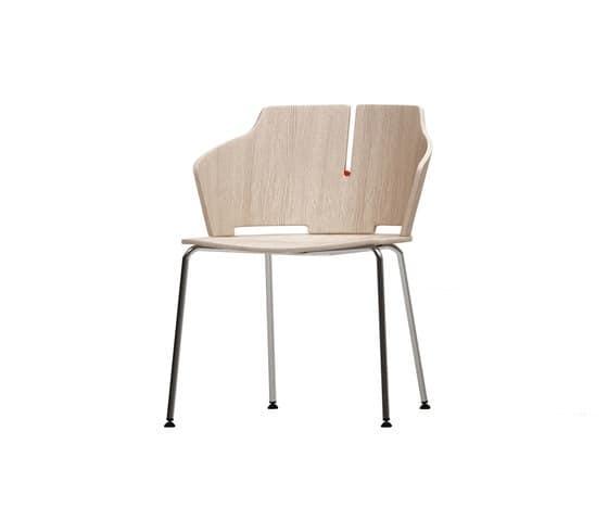 Sedia molto comoda per negozi uffici e ristoranti idfdesign for Sedia design comoda