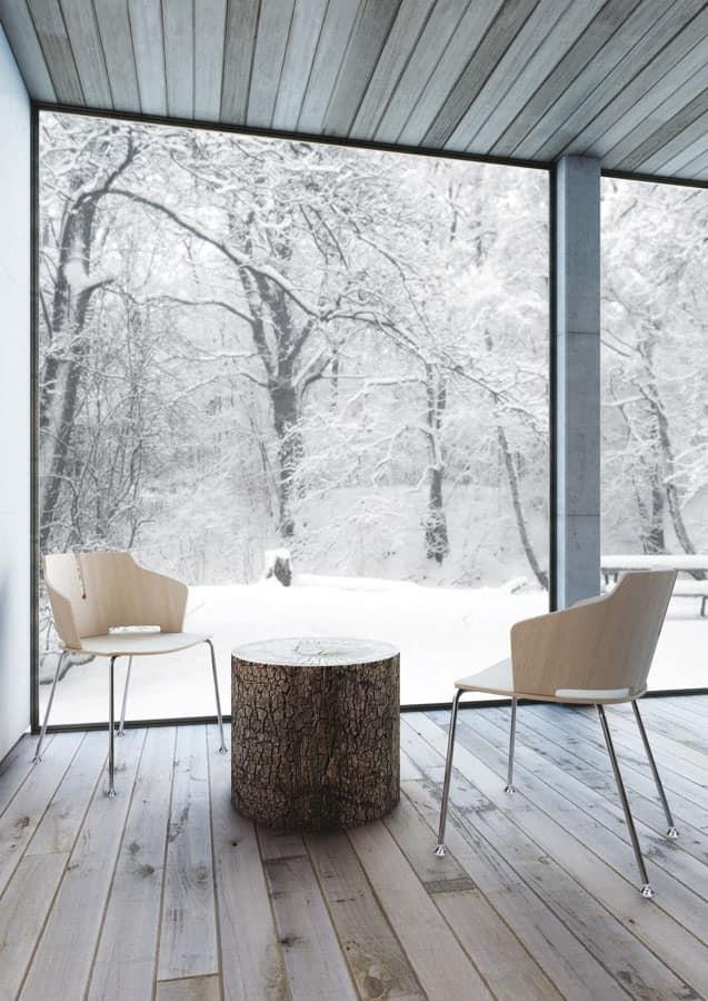 PRIMA PR1, Sedia molto comoda per negozi, uffici e ristoranti