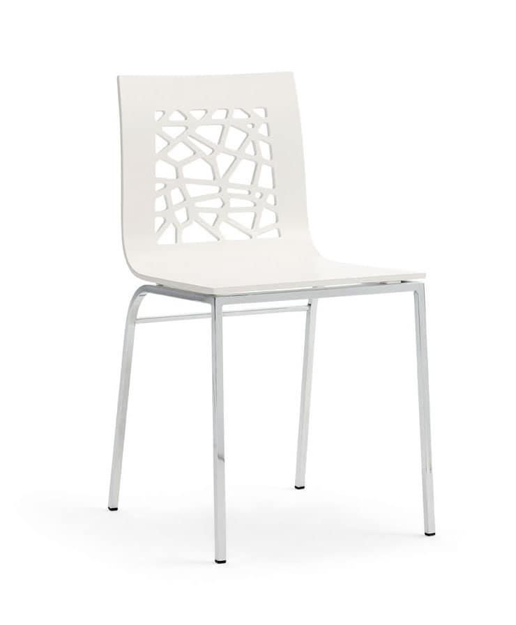 Sedie in metallo e legno idee di design nella vostra casa for Disegni di casa in stile santa fe