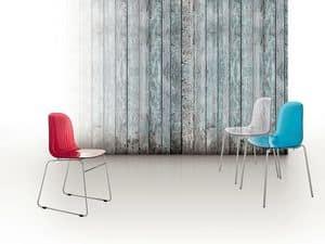 Immagine di Playa, sedie metallo moderne