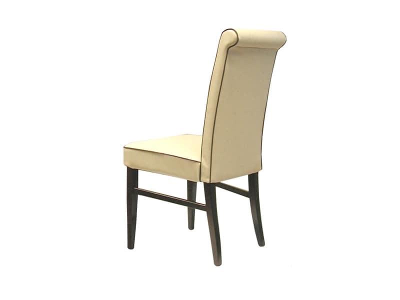 1118 c sedie dalle linee moderne camera idfdesign for Sedie imbottite moderne