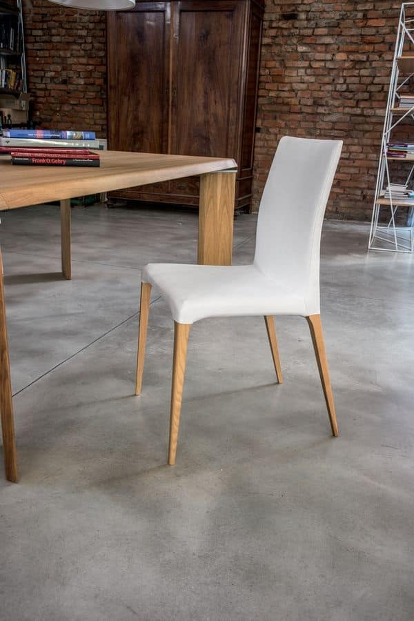 Sedia moderna imbottita per cucina e sala da pranzo for Sedie moderne design