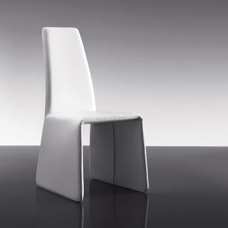 ART. 250 MONET, Sedia completamente rivestita, per sala da pranzo