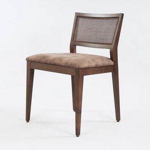 BS547S � Sedia, Sedia in legno con seduta imbottita