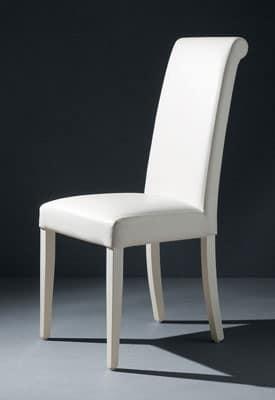 Immagine di curly sedia comoda imbottita for Sedia design comoda