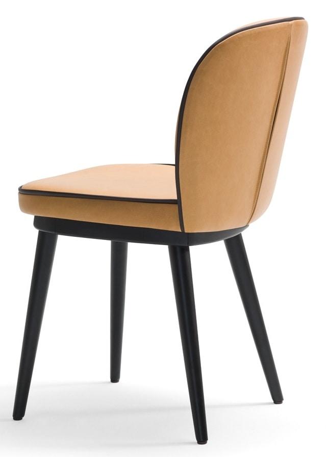 Dena-S, Sedia da ristorante con gambe in legno