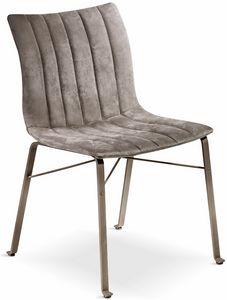 Ginevra sedia, Sedia con seduta ergonomica