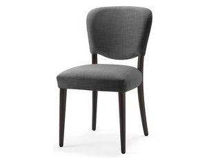 Mia-S, Sedia con sedile e schienale imbottiti con espanso ignifugo