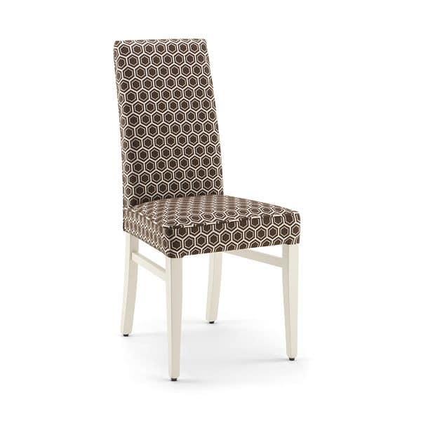 Nancy sedia sedia moderna per casa sedia imbottita per for Sedia design comoda