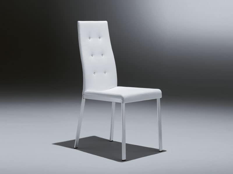 Sedute sedie idf for Sedie salone moderne