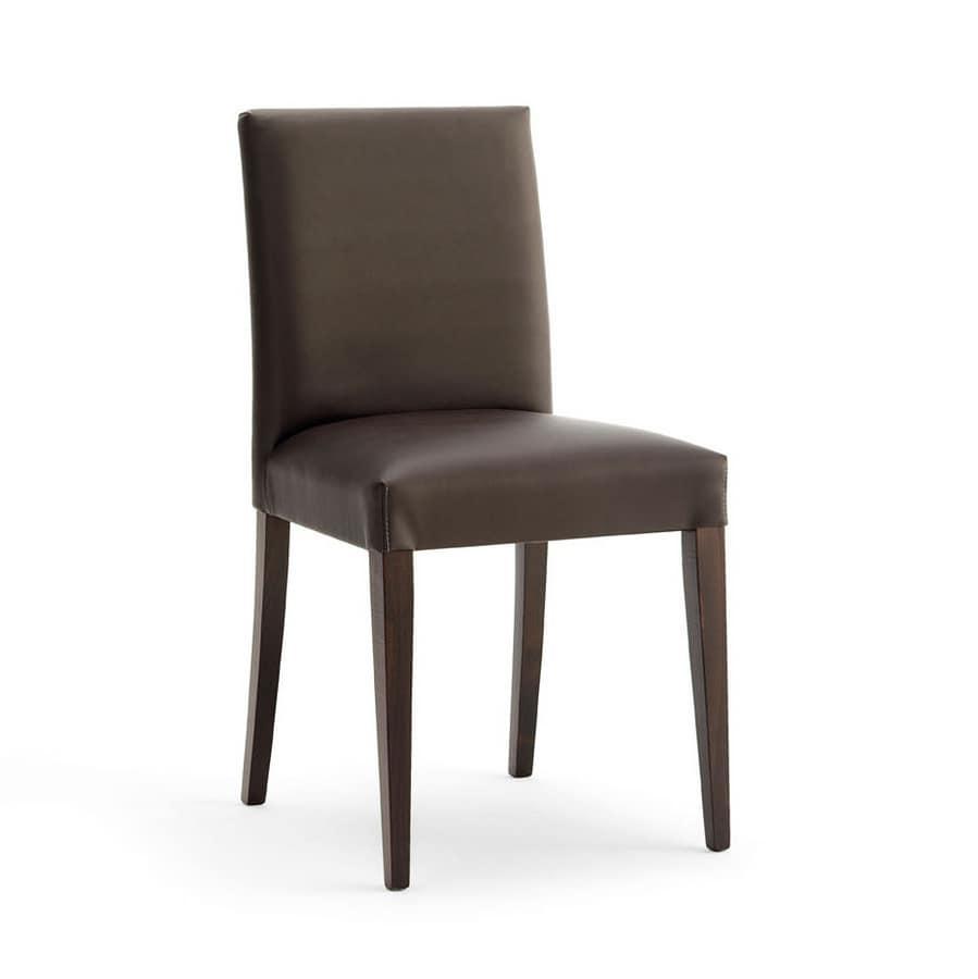 Sedia imbottita dalle linee moderne per sala conferenze for Sedie moderne design