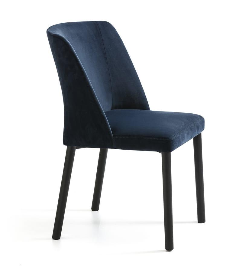 Virginia XL 4WL, Sedia moderna confortevole e morbida
