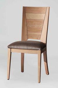 BS133S � Sedia, Sedia in legno di faggio massello