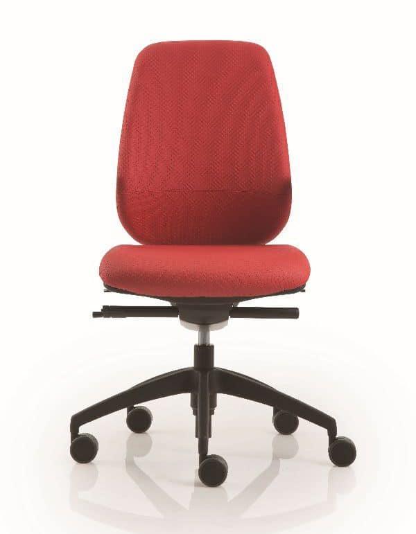 Sedia operativa girevole per uffici idfdesign for Sedie operative per ufficio
