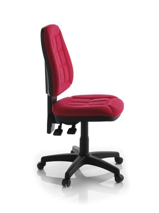 Sedia operativa con ruote per ufficio e Call center | IDFdesign
