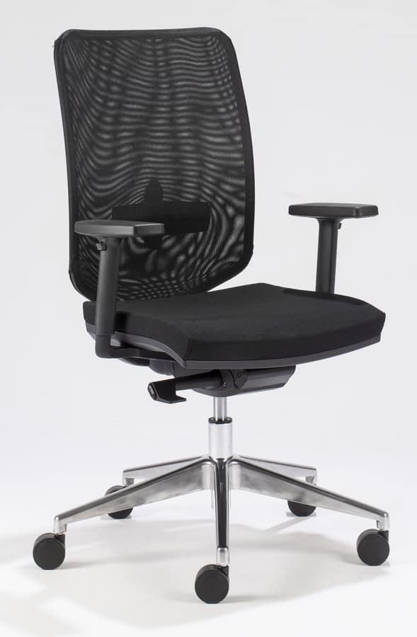 Sedia da ufficio con supporto lombare   IDFdesign