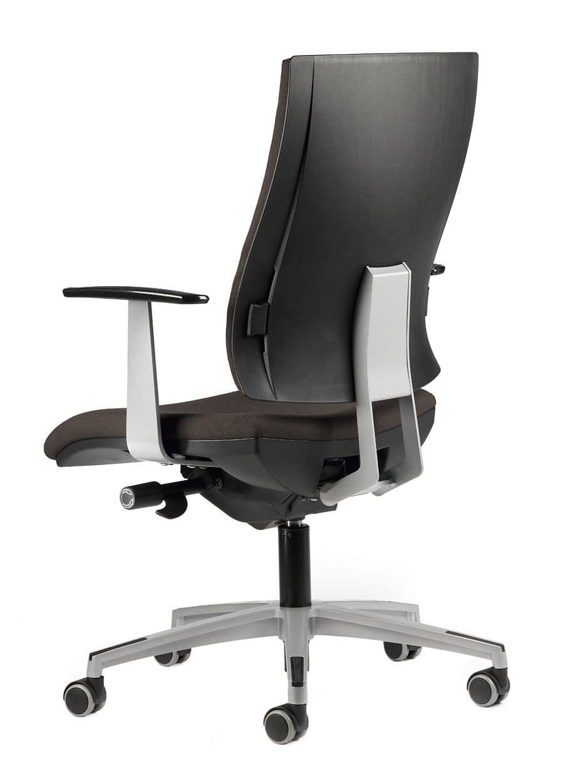 Sedia operativa con ruote imbottita per ufficio idfdesign for Amazon sedie ufficio