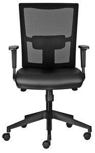 Driade SY, Sedia per ufficio, con schienale in rete e seduta imbottita