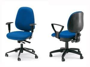 Dublino, Sedia ergonomica operativa, scocca interna in multistrato