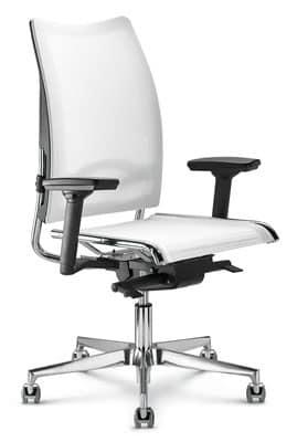 Sedia ufficio schienale basso flash for Sedia ufficio economica