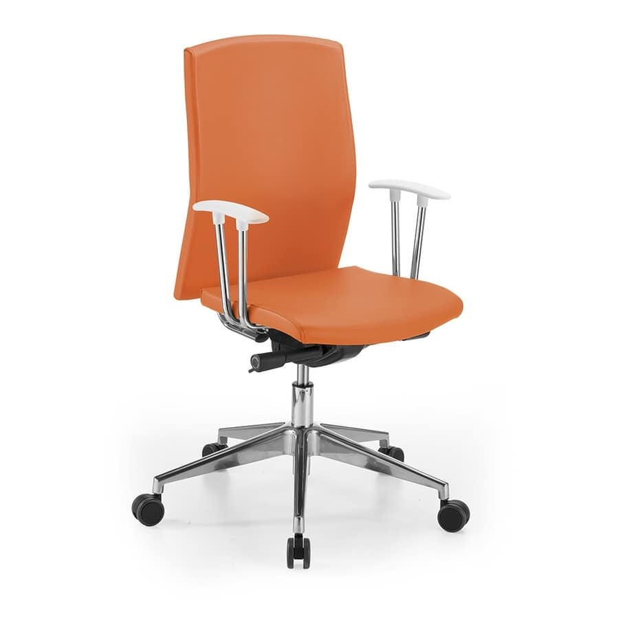 Sedia ergonomica. Regolabile in Altezza POLLY- Sedia da Ufficio per bambini Sedia da scrivania Girevole Sedile Imbottito
