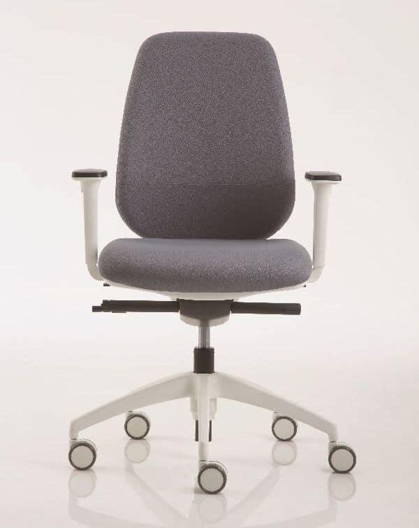 Sedie ufficio sedia operativa ufficio pratica 8000d for Sedia design comoda