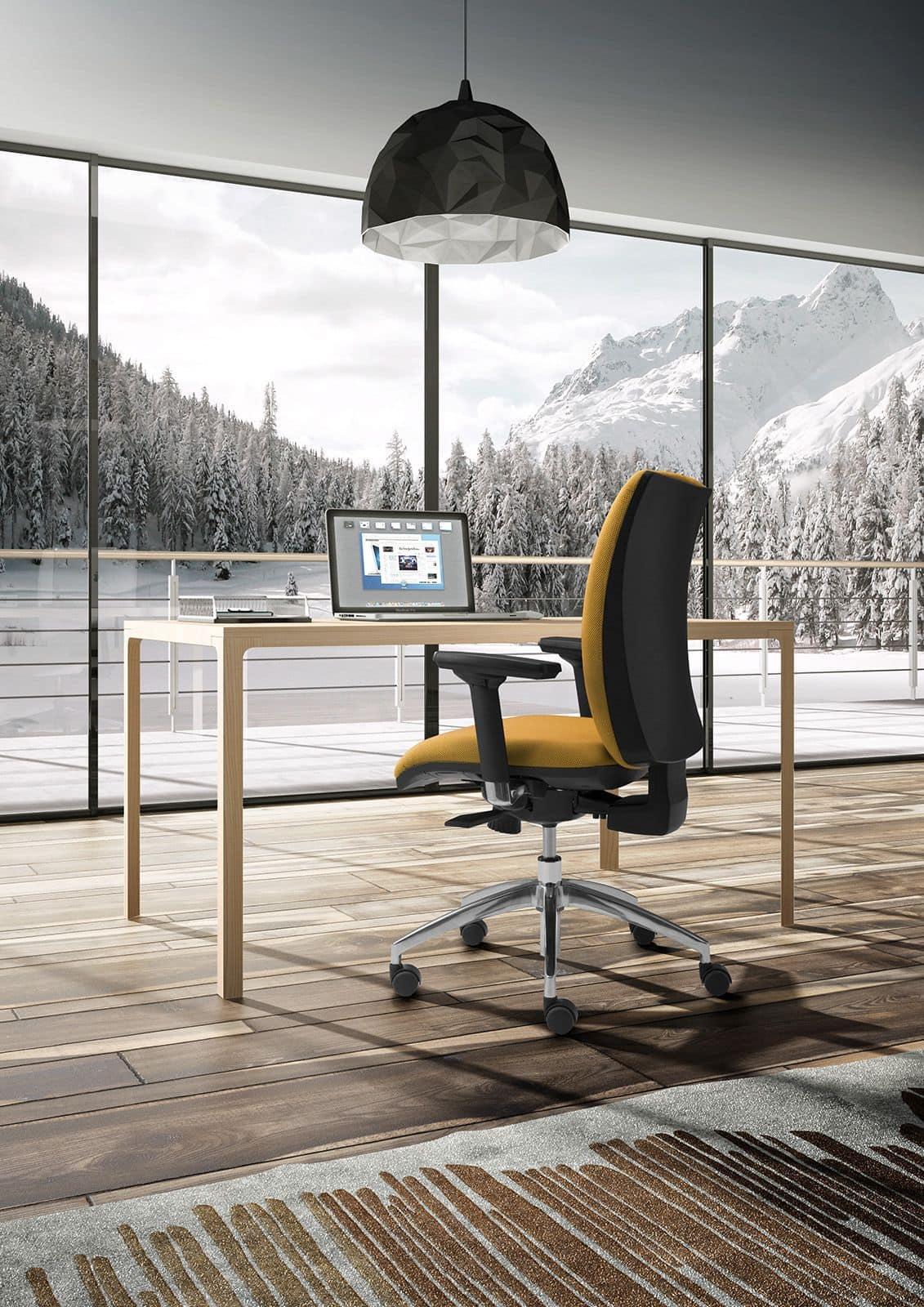 Sedie operativa per uffcio sedia girevole con braccioli for Sedie ufficio