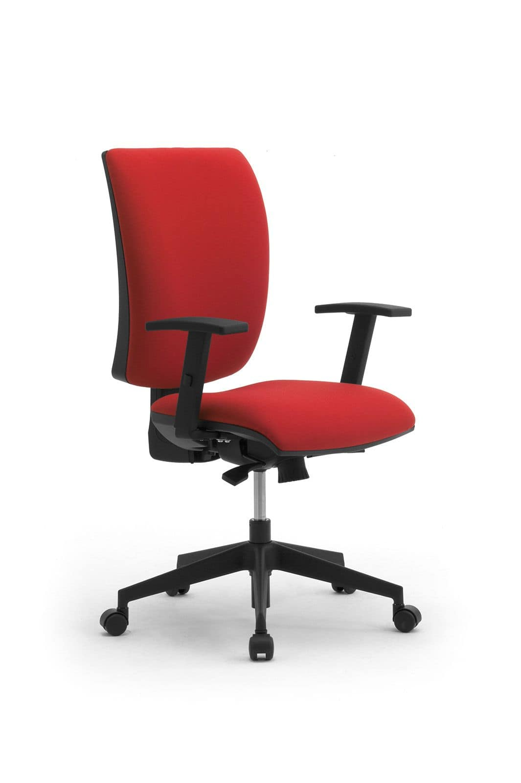 Sedia operativa per ufficio con schienale medio alto for Sedia ortopedica per ufficio