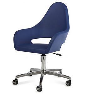 NUBIA 2305, Sedia per ufficio, con ruote