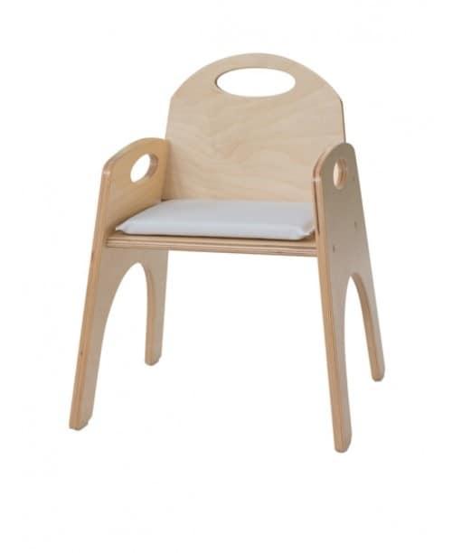 Sedia con braccioli per bimbi impilabile per aree gioco - Sedia bagnetto bimbo ...