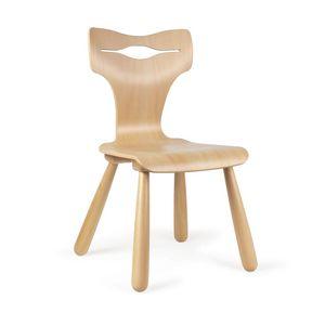 JOKER, Sedia in legno per bambini