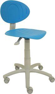 Punto, Colorata sedia per cameretta ragazzi, con ruote