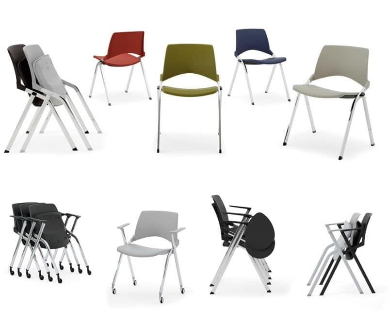 Opl sedia comoda sedia economica sedia impilabile sala for Sedia ufficio economica