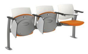 Q44 TIP-UP, Seduta con sedile ribaltabile per aule didattiche