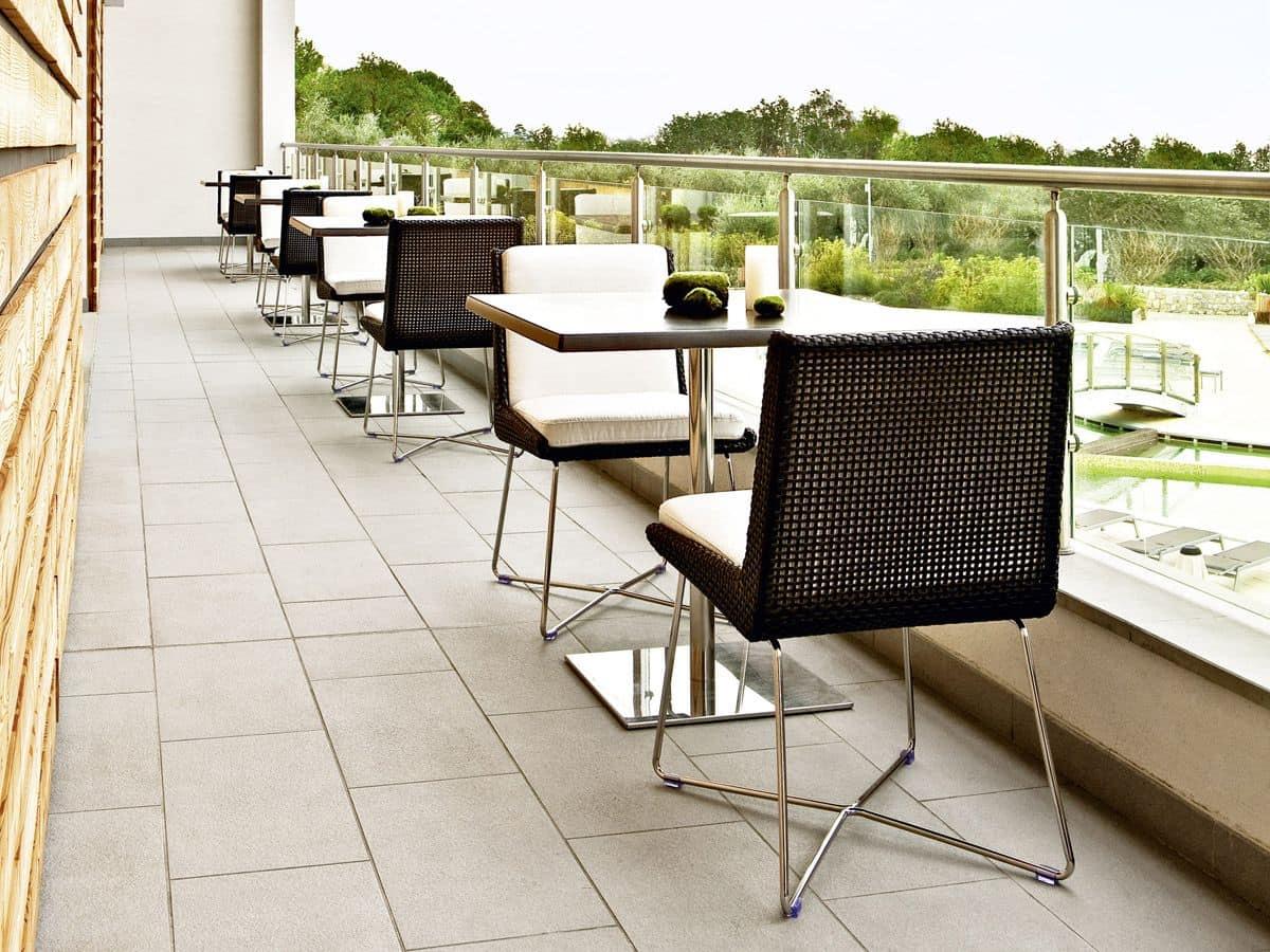Sedia in cuoietto intrecciato cuscino sfoderabile idfdesign for Sedia design amazon