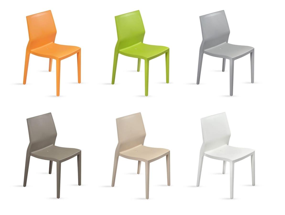 Sedia leggera ergonomica multifunzione per uso contract - Sedia ergonomica prezzi ...
