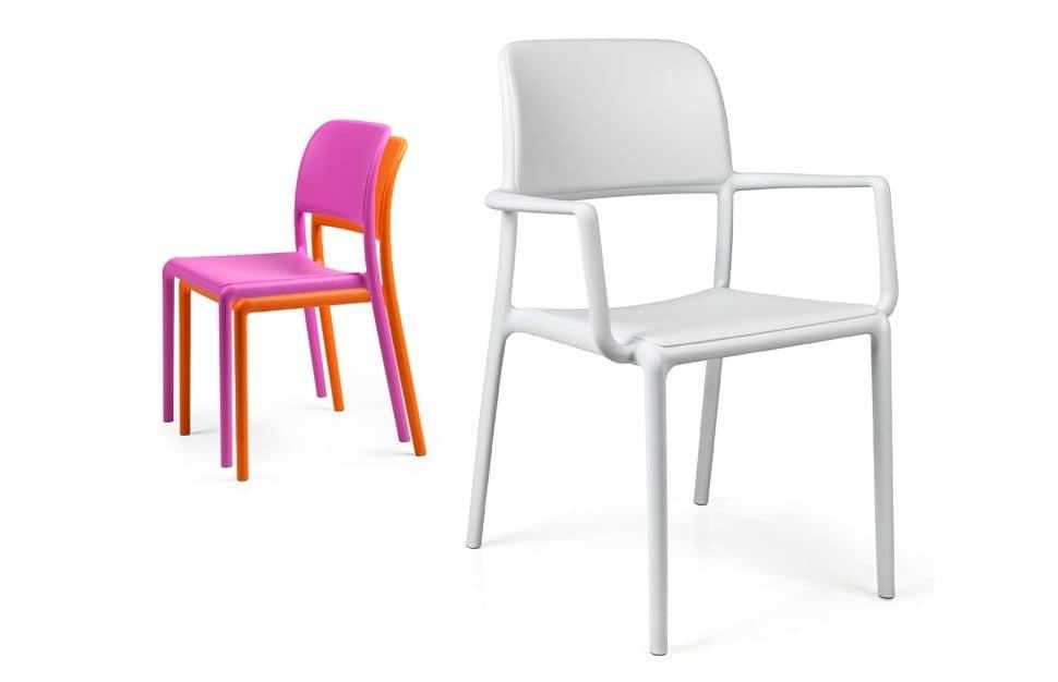 Sedute sedie per esterni idf for Sedie outdoor design