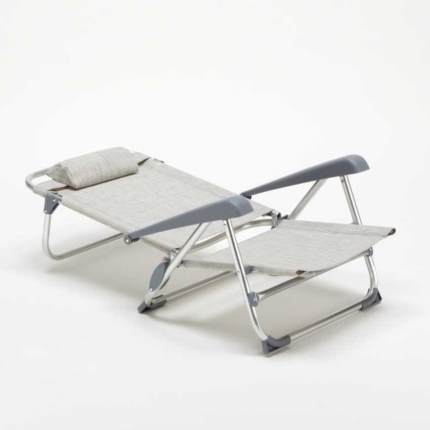Sedie Sdraio Pieghevoli Alluminio.Sedia Pieghevole Da Spiaggia Con Braccioli Idfdesign