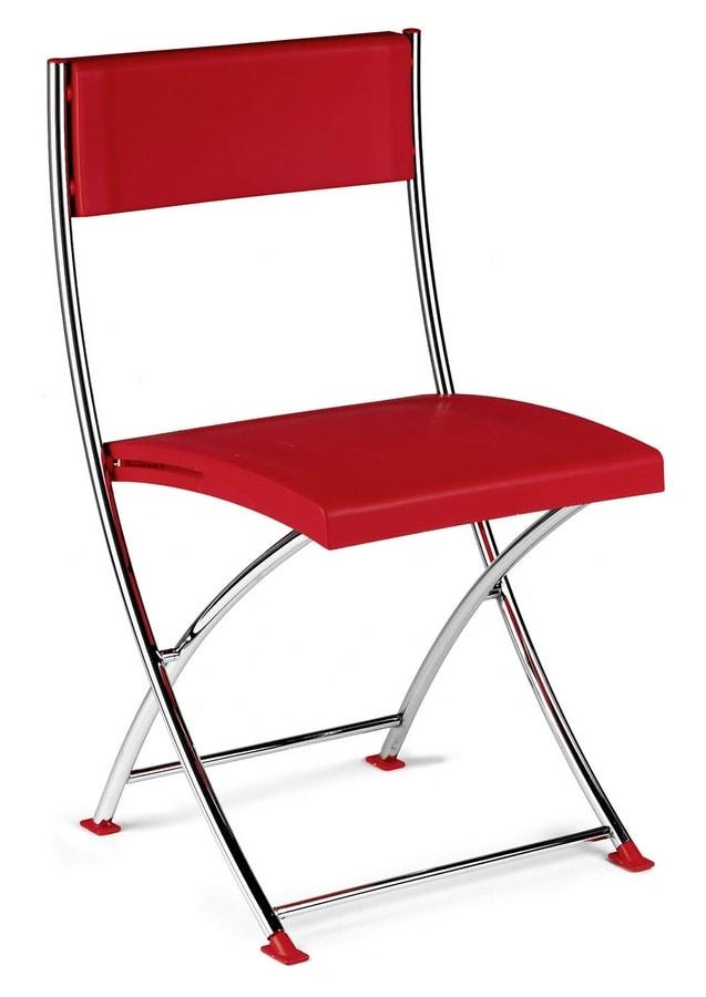 Sedia pieghevole con struttura sottile per conferenze - Sedie pieghevoli design ...