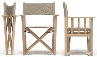 Dolce Vita, Sedie pieghevole in legno per interno ed esterno