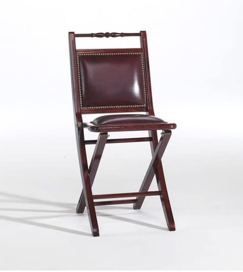 Sedia pieghevole imbottita, in stile classico | IDFdesign