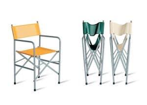 Comoda sedia pieghevole per catering e conferenze idfdesign for Sedia regista ikea